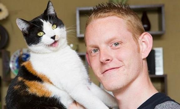 кот джейк и его хозяин ричард смит