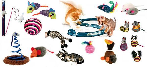 игрушки для кошки