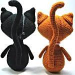 вязанные кошки
