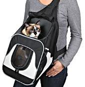 кошка в рюкзаке
