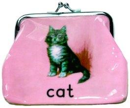кошелек и кошка