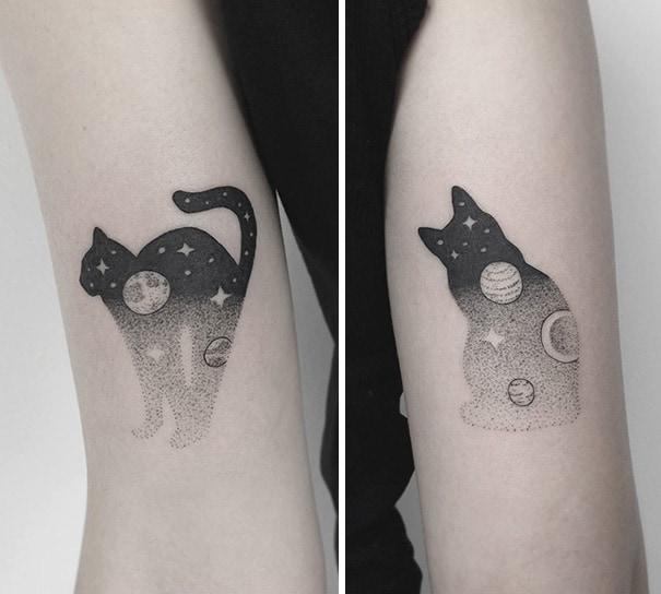 15 Лучших Татуировок с Кошками