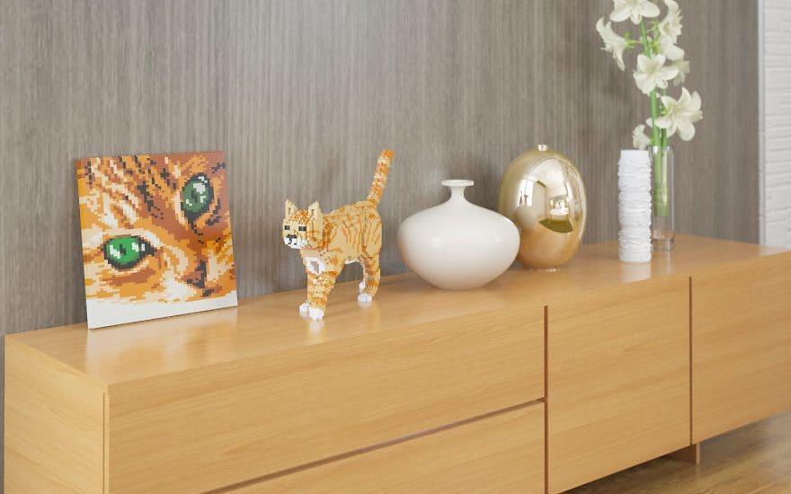 Кошки и Коты из LEGO
