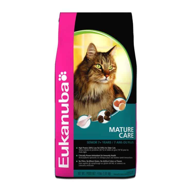Eukanuba Mature Care Formula for Cats (США)