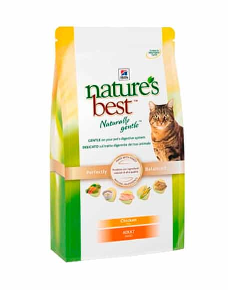 Hill's Nature's Best™ With Real Chicken Adult Cat (США) – корм премиум-класса.