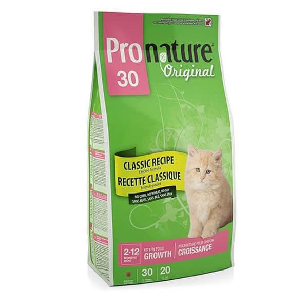 ProNature 30 Adult for Cats (Канада) – корм класса «премиум»