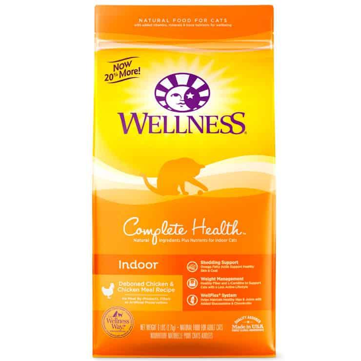 Wellness® Indoor Health for Adult Cat (США) – холистик корм